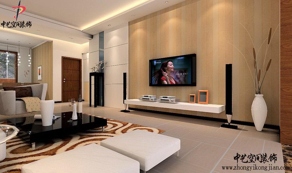 大廳電視墻裝修設計效果
