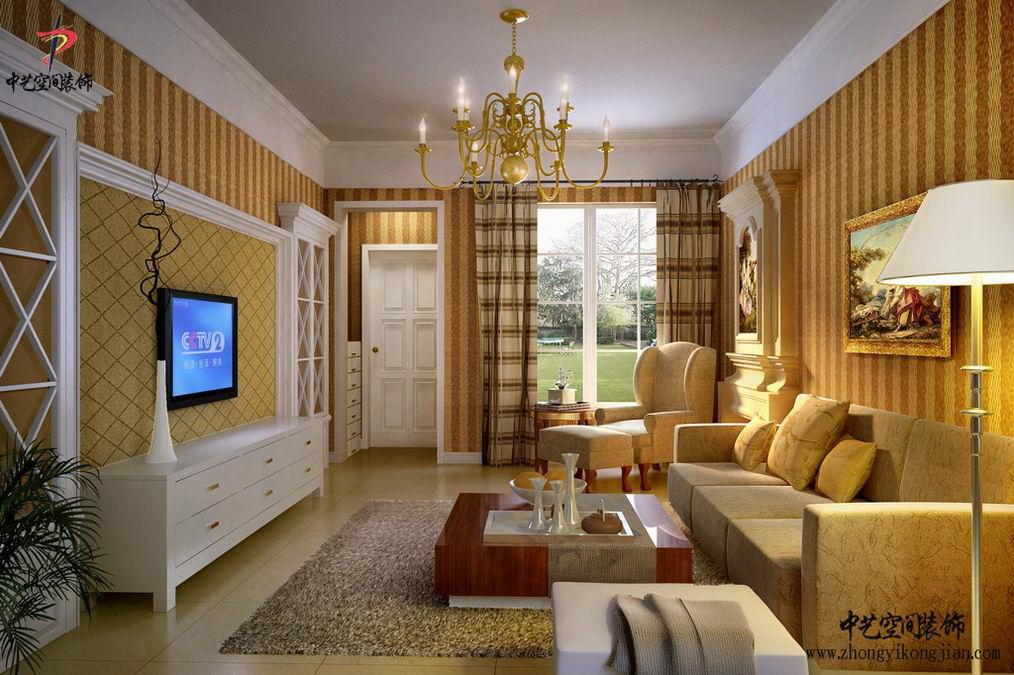 客厅欧式风格装修