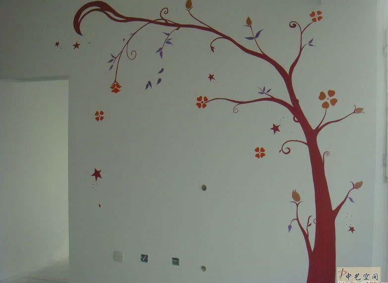 修公司 石家庄墙体艺术手绘,新的家装时尚 附图图片